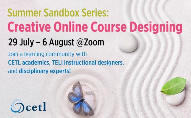 Summer Sandbox Series: Creative Online Course Designing