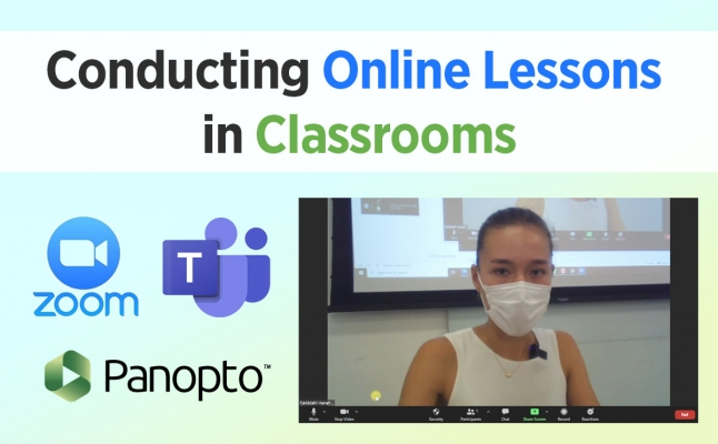 Conducting Online Lessons in Classrooms