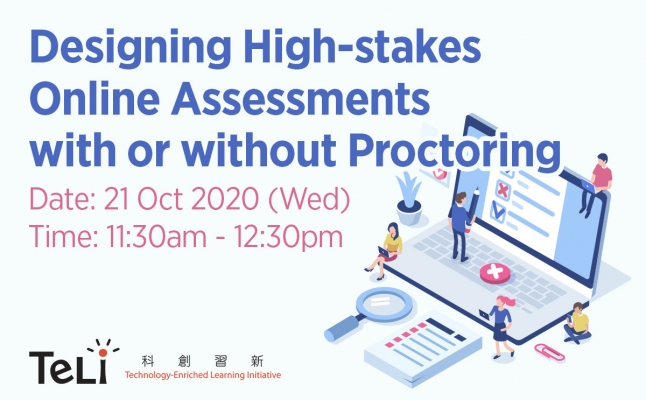 Designing High-stakes Online Assessments with or without Proctoring