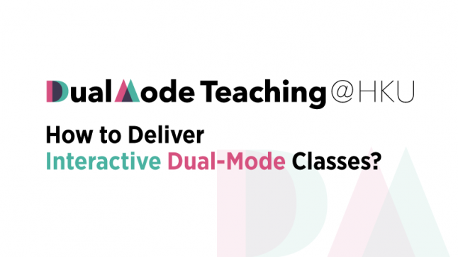 ow to Deliver Interactive Dual-Mode Classes?