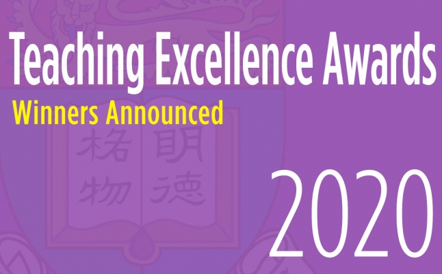 2020 Teaching Excellence Awards